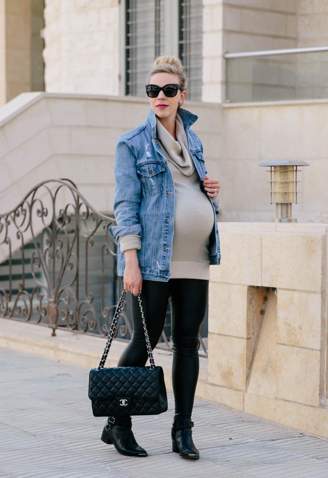 38 Weeks Pregnancy Style & Shopbop Sale Alert