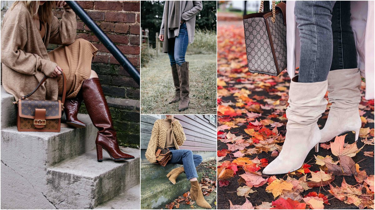 Meagan Brandon fashion blogger of Meagan's Moda shares four fall boot trends for 2020