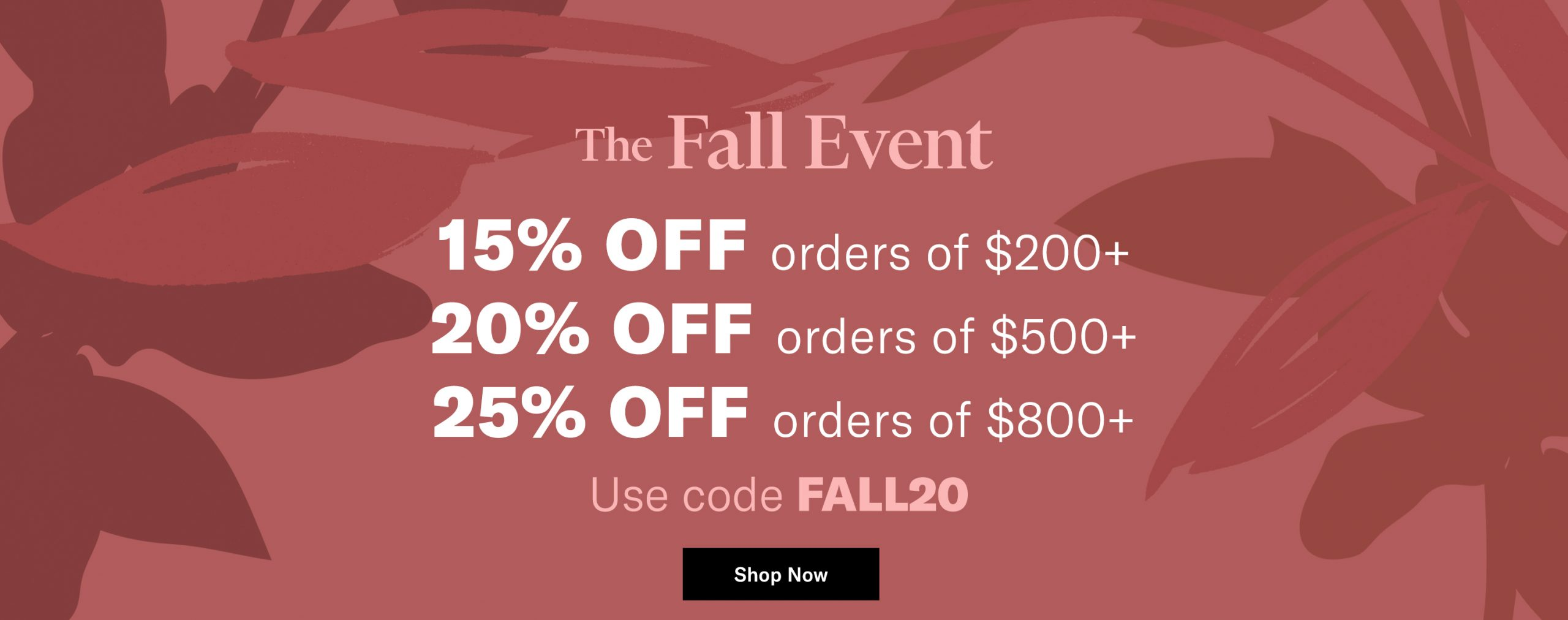 Shopbop fall sale 2020