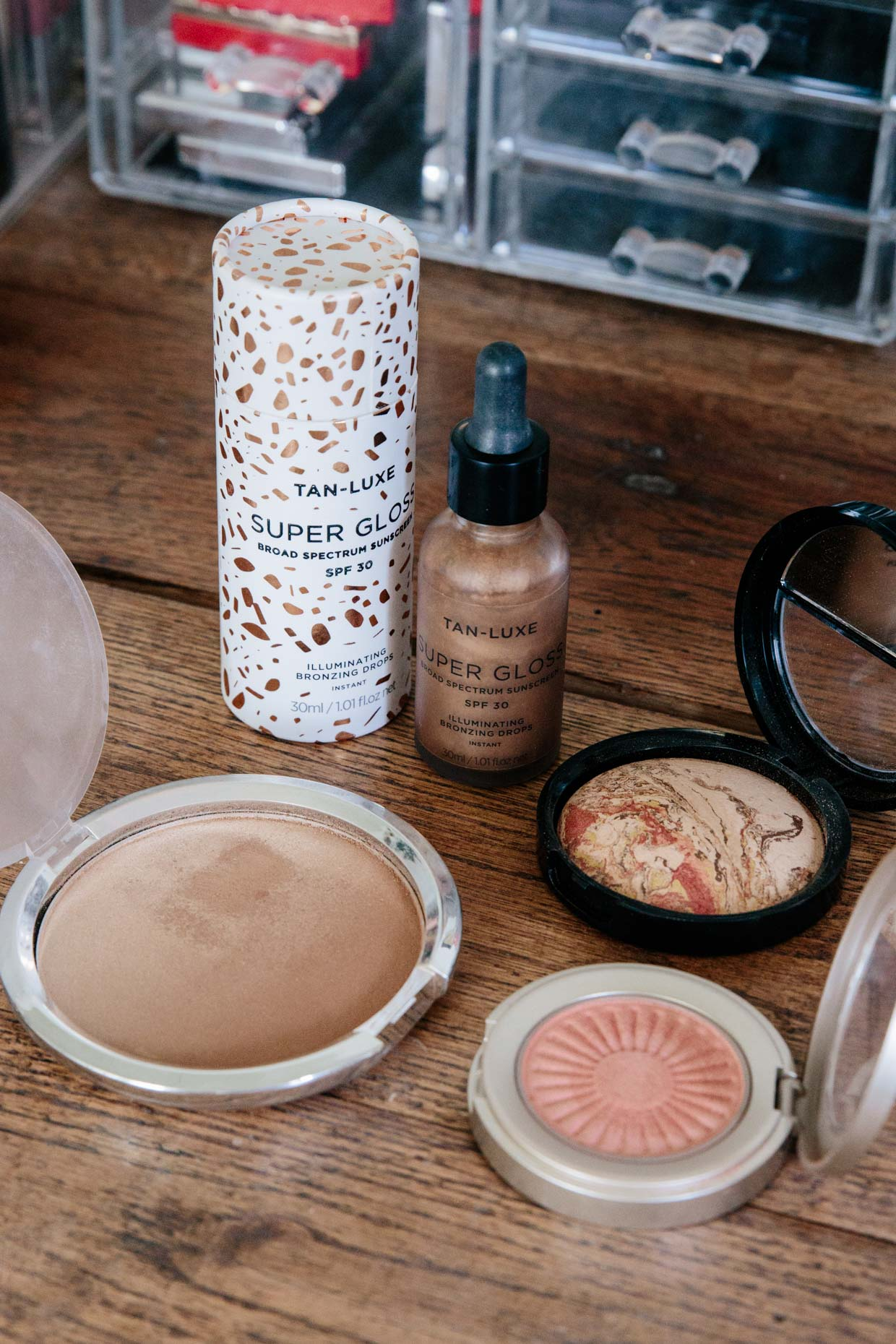 Meagan Brandon fashion blogger of Meagan's Moda reviews best bronzing products for 2021 best bronzers for fair to light skin tones