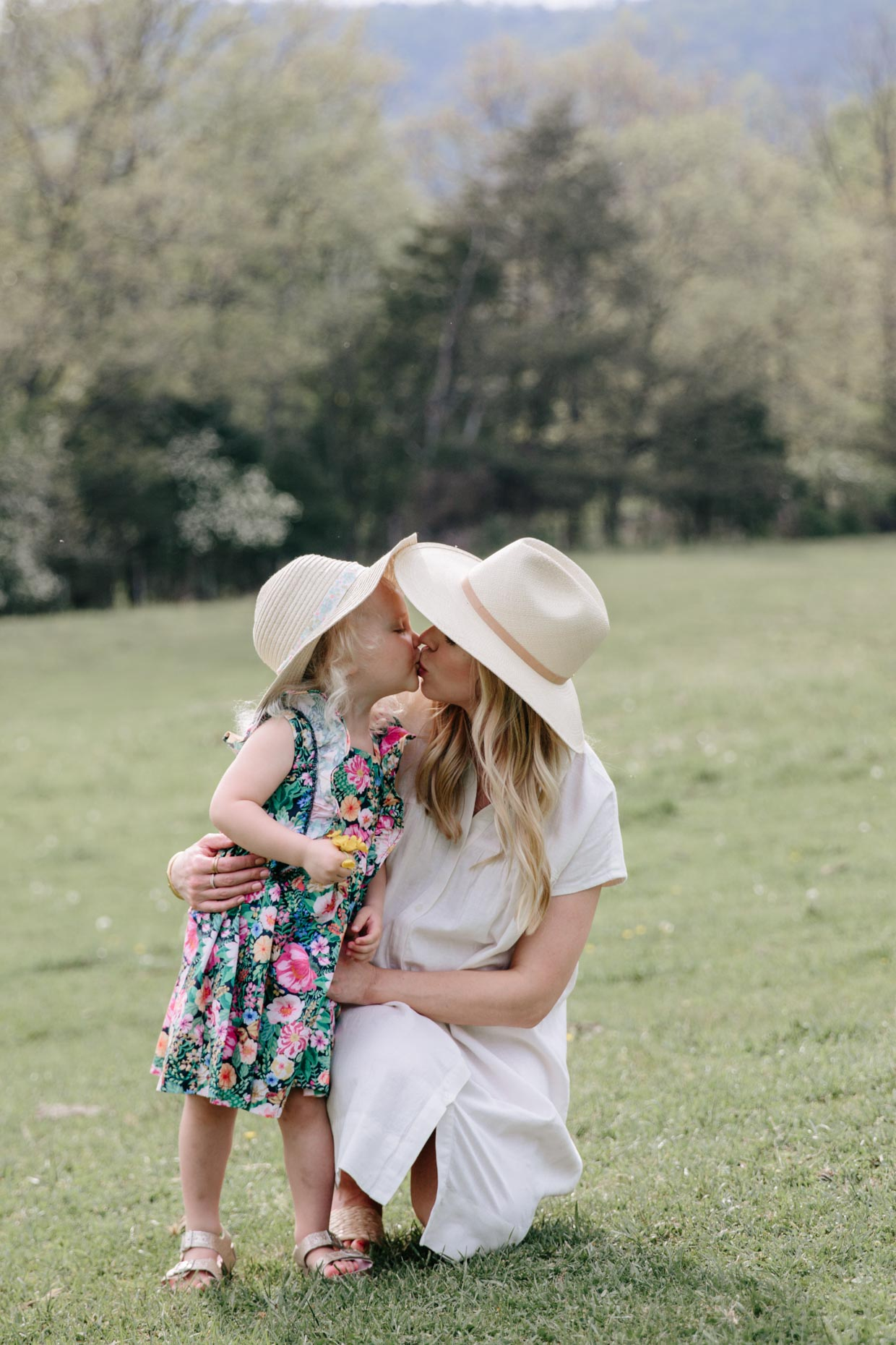 Meagan Brandon of Meagan's Moda shares Mommy and Me summer dress outfits for Mother's Day photo shoot