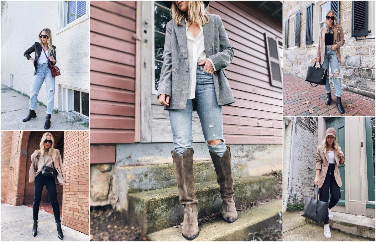 Meagan Brandon of Meagan's Moda shares five ways to wear a blazer for fall 2021